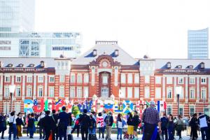 東京駅とラグビーワールドカップ